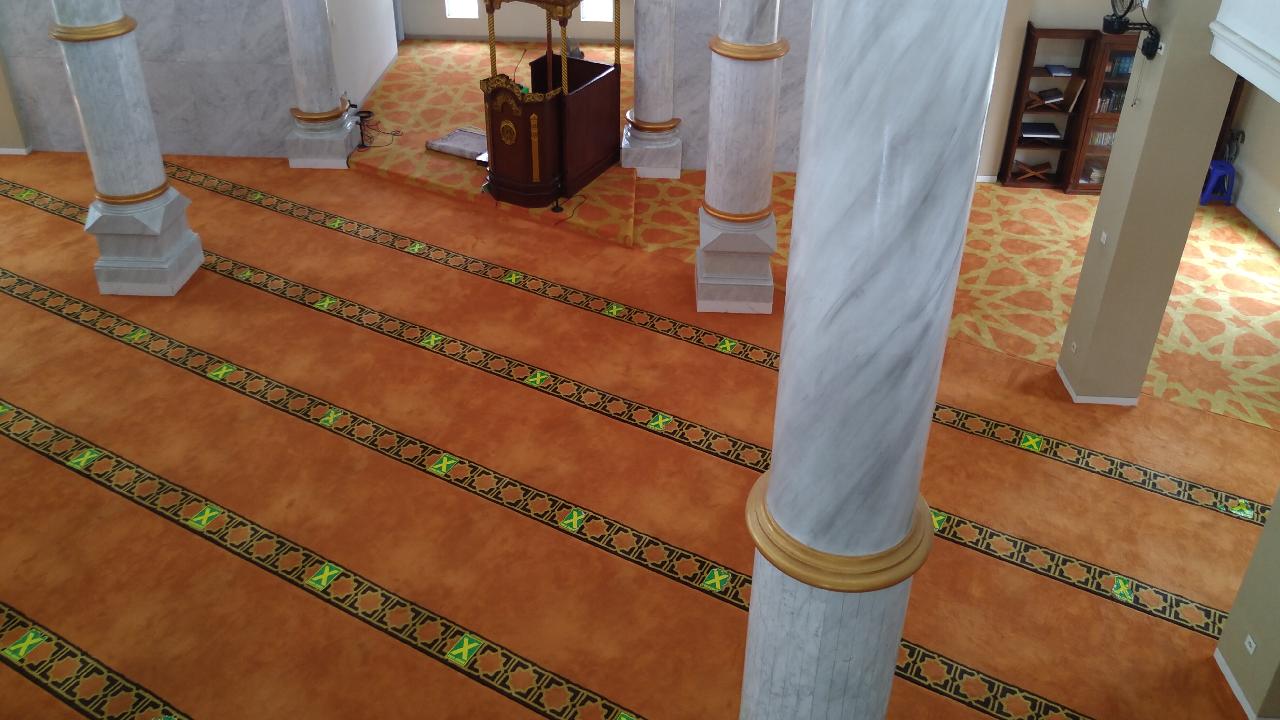 karpet masjid babussalam